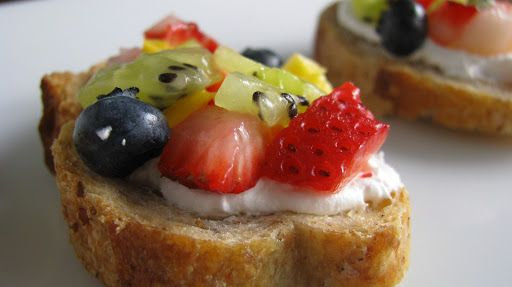 Fresh Fruit Bruschetta Recipe on Yummly