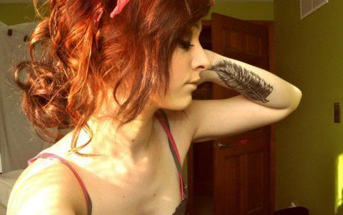 Seleção de fotos de ruivas tatuadas (26)