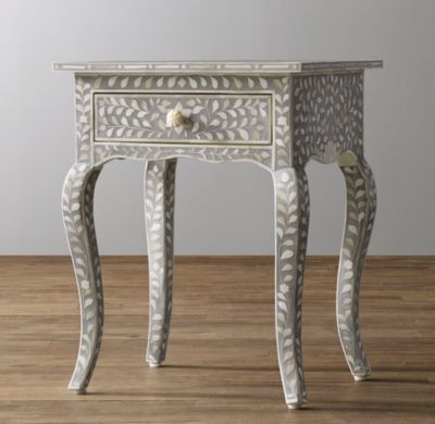 Amira Inlay Side Table