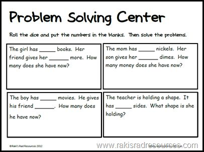 Problem solving year 1