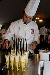 "masterclass at the ""Etoiles de Mougins"" festival of gastronomy"