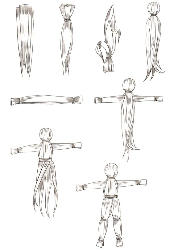 how to make corn husk dolls - Google-Suche