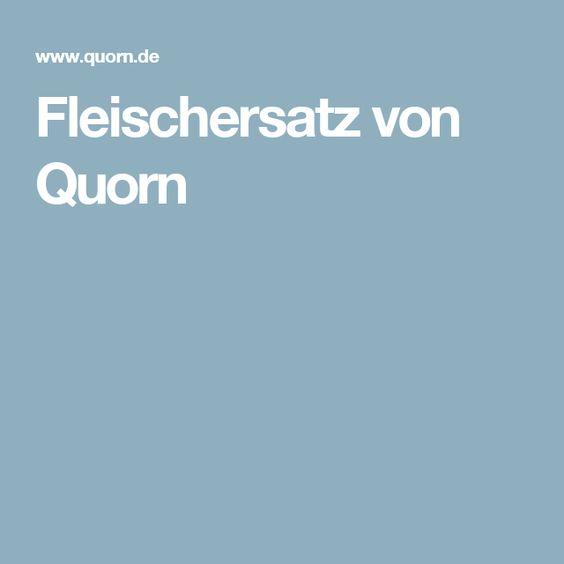 Fleischersatz von Quorn