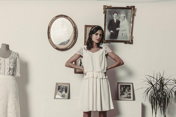Laure de Sagazan   Robes de mariée sur mesure fabriquées en France