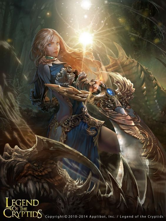 Gran guerrera Legend of the cryptids