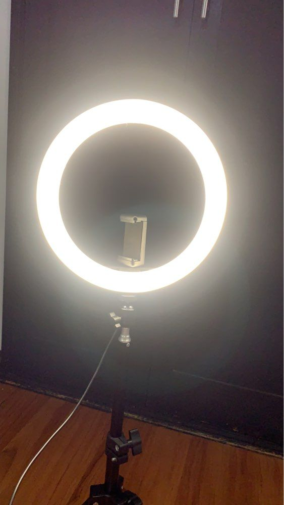 10 Inch Led Ring Light In 2020 Led Ring Light Led Ring Light