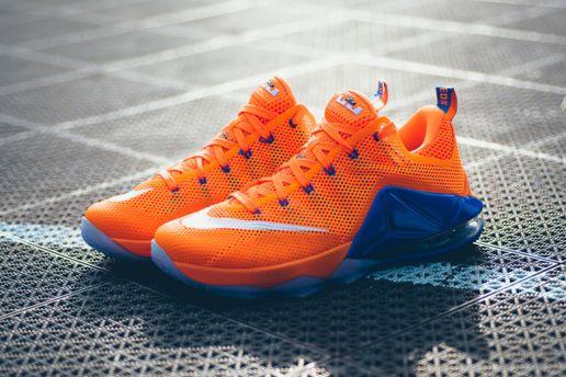 quality design 75ecd 0db90 2015 Cheap Nike Lebron 12 Cheap sale Royal Blue White Orange 684