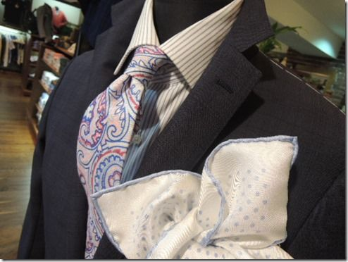 Like shirt tie combo with OTT pocket square !