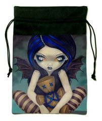 Voodoo In Blue Tarot Bag by Jasmine Becket-Griffith — The Mystic Realm
