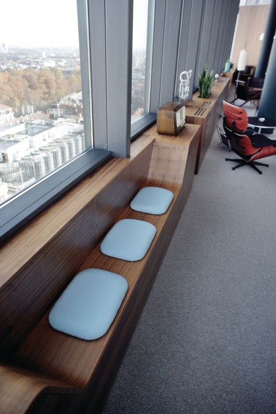 Style window benches and offices on pinterest for Design office zagreb