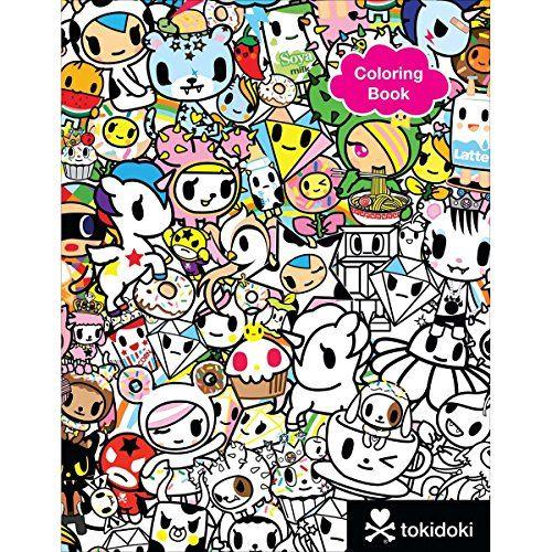Free Pdf Tokidoki Coloring Book Free Epub Mobi Ebooks Sketch Book Coloring Books Tokidoki