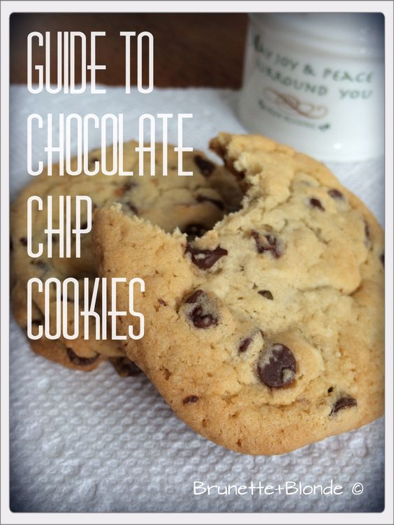Guide to chocolate chip cookies