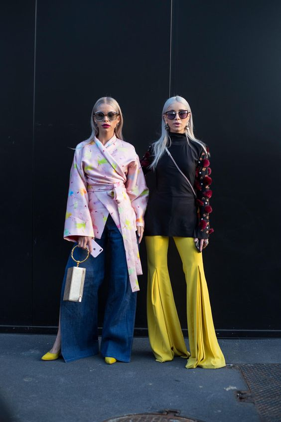 On the street at Milan Fashion Week. Photo: Chiara Marina Grioni