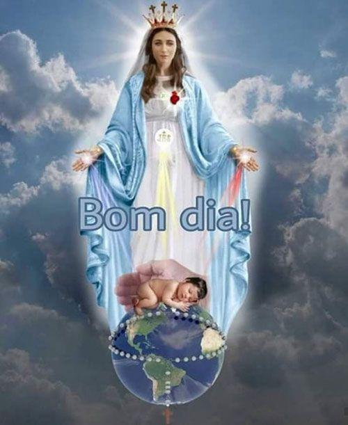 Maria é a escada celeste pela qual deus desceu à terra e os…