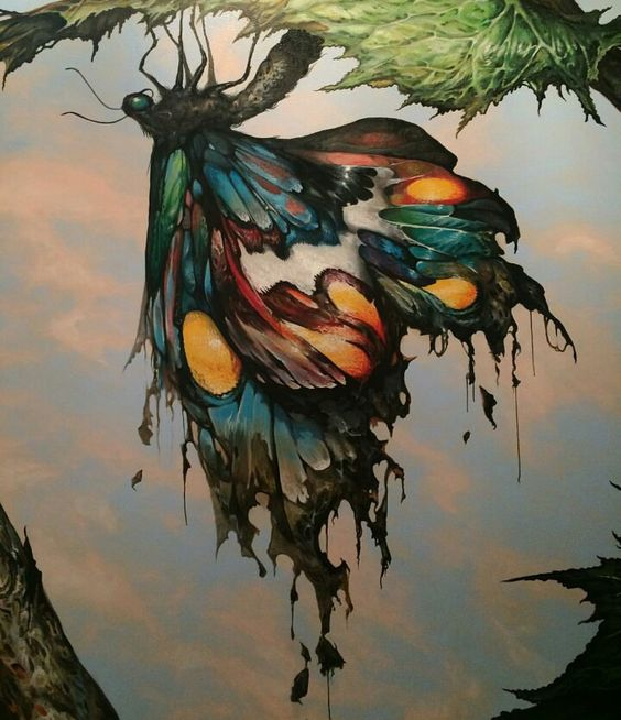 A mural by Esao Andrews