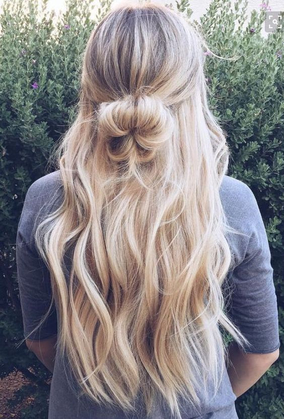 20 Curly 3 4 Full Head Synthetic Hair Extensions Clip On In Hairpiece In 2020 Hair Styles Long Hair Styles Hair Looks