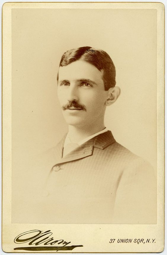July 10, 1856: Electrical inventor Nikola Tesla is born in what is now Smiljan, Croatia. After working at Thomas Edison's company in France, he arrived in the U.S. with just a few cents in his pocket and went on to earn about 300 patents around the world and help develop technologies that formed modern AC electricity. This portrait is from the Kenneth M. Swezey Papers, Archives Center, National Museum of American History, Smithsonian Institution.
