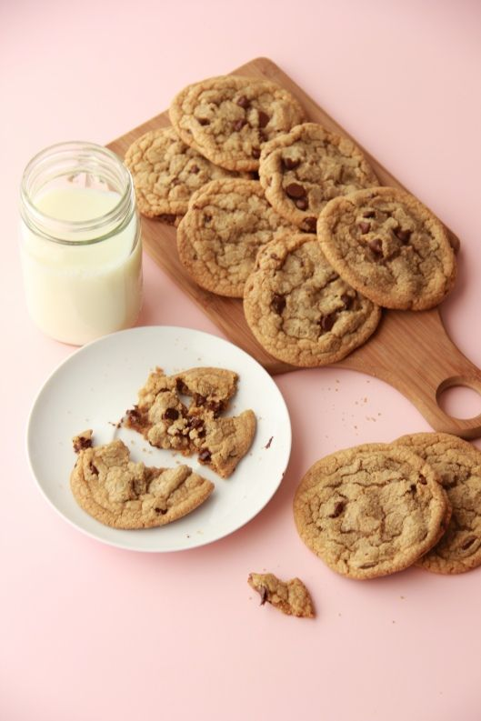 Science of the choc chip cookie - make substitutions to get the texture you want