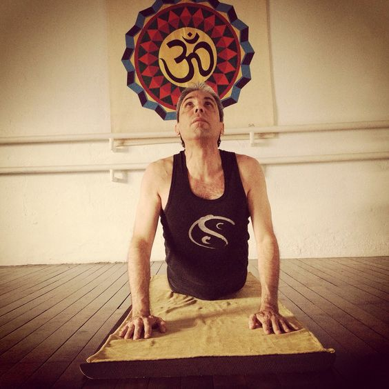 Selfie antes de una de mis clases de Yoga