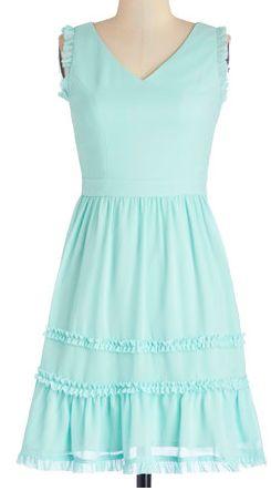 Sweet ruffle dress in #mint http://rstyle.me/n/fphjjnyg6