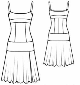 patron couture robe sans manche