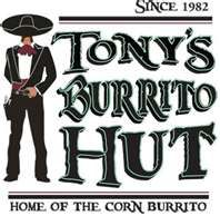 Corn Burrito's to go.. or eat in.