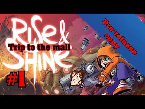 Part#1-Rise and Shine Pre-release - A trip to the mall | MonkeyboyGamer