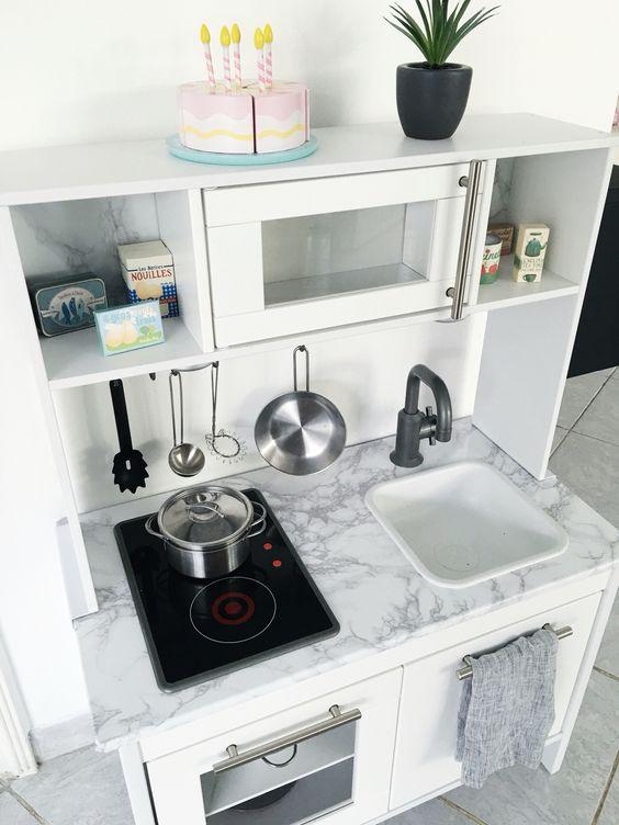 DIY Kochen wie die Mama Unsere Ikea DUKTIG Spielküche - kleine küchenzeile ikea
