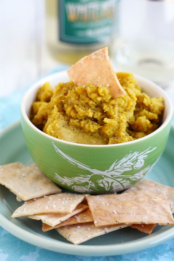 Delicious curried lentil dip. This dip comes together quickly and is a ...