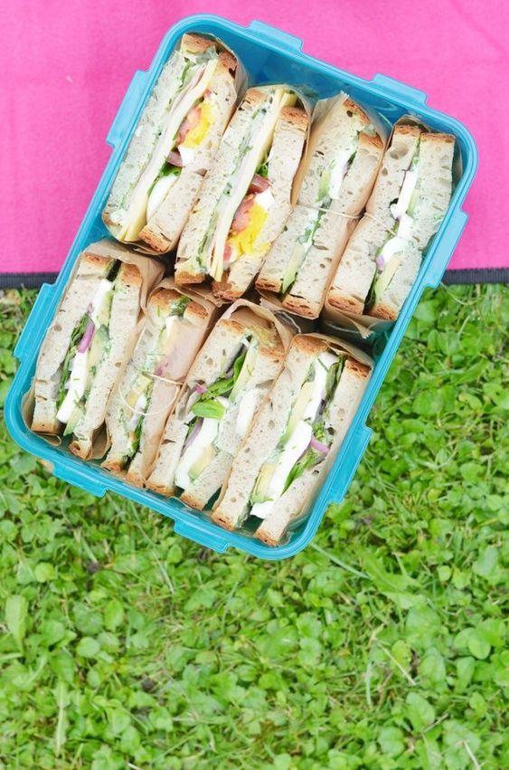 Fünf einfache Picknick Rezepte - Bonny und Kleid