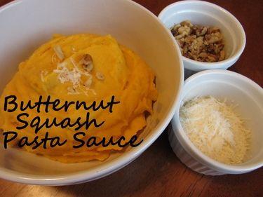 Frugal & Freezer Friendly: Butternut Squash Pasta Sauce