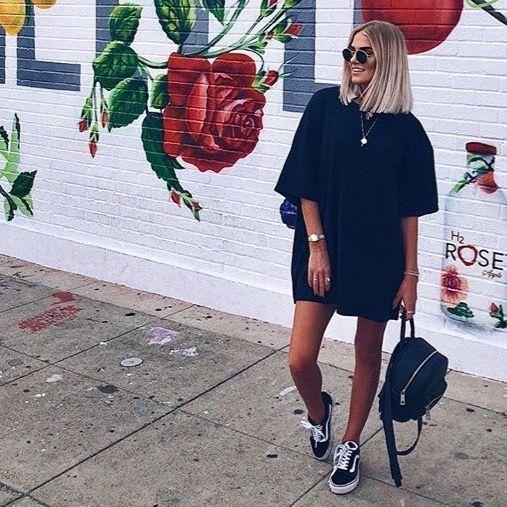 50 How to Wear an Oversized T Shirt Ideas 26   Tshirt dress outfit, Casual  tshirt outfit, Tshirt outfits