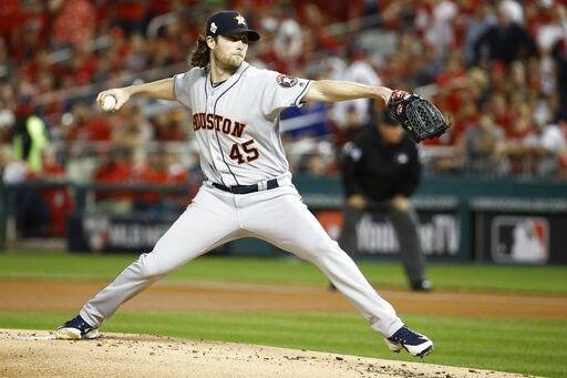 Gerrit Cole S Strikouts Cole Bleachers Houston Astros