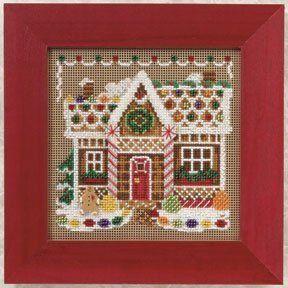 Gingerbread House Cross Stitch!
