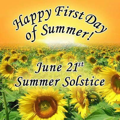 Happy First Day Of Summer My Family & Friends Around The World  Enjoy Be Safe Love Hugs Blessings ❤☀ï¸Â June 21 is officially the first day of summer, also known as the Summer Solstice. Today holds symbolic importance, as it marks the longest day of the year in the Northern Hemisphere, and the point after which the sun starts rising later and setting earlier #FirstDayOfSummer