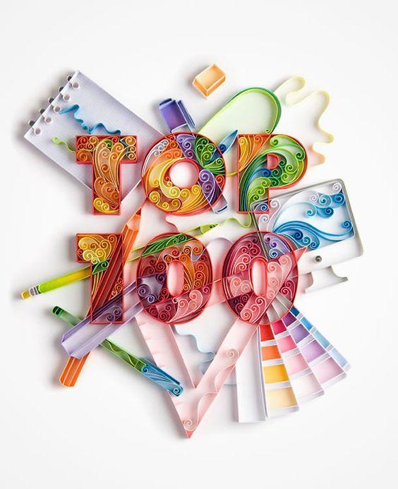 Trabajos de papel que quitan el hipo: Yulia Brodskaya ~ La Caja de Inventia | Blog de Comunicación Creativa y Tendencias