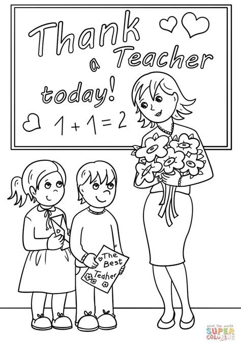 25 If You Are Looking For School Teacher Coloring Pages You Ve