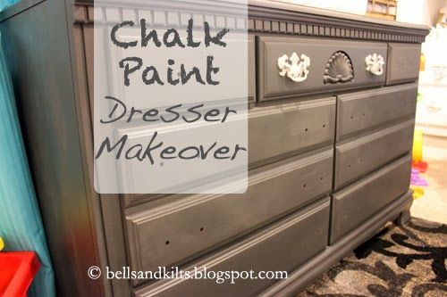 DIY chalk paint dress makeover, annie sloan chalk paint graphite, dresser upgrade