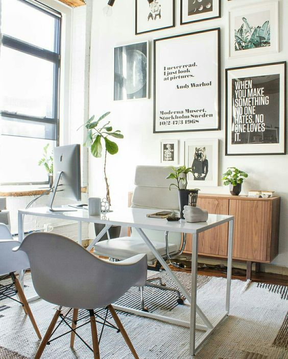 Pin by Amy Trapheppen on Home Office Decor | Home office