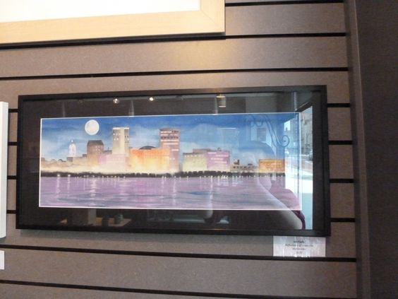 Arts Council of Southwestern Indiana Consignment Shop Photograph of Jon Fuchs's Reflections of Evansville $120