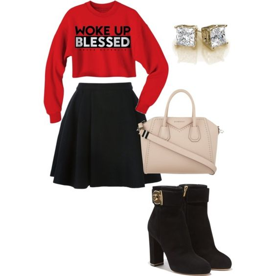 Blessed!!!! by merima2002 on Polyvore featuring Avelon, Salvatore Ferragamo, Givenchy, women's clothing, women's fashion, women, female, woman, misses and juniors