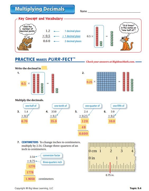 math worksheet : multiplying decimals worksheet  answers  operations with  : Operations With Decimals Worksheet