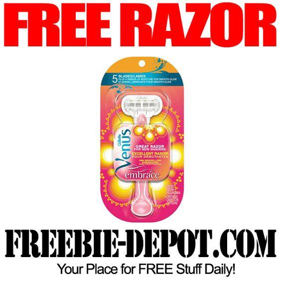 FREE Gillette Venus Razor - Exp 6/4/14