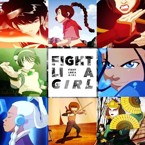 Another aspect of Avatar I loved, the women outnumbered the men 2:1 (Azula, Mai, Ty Lee, Katara, Toph, Suki vs Aang, Sokka, Zuko) and they were all strong, smart, diverse individuals. Their beauty, or lack there of, wasnt what was in focus. What was in focus was what they contributed to the group and the story.