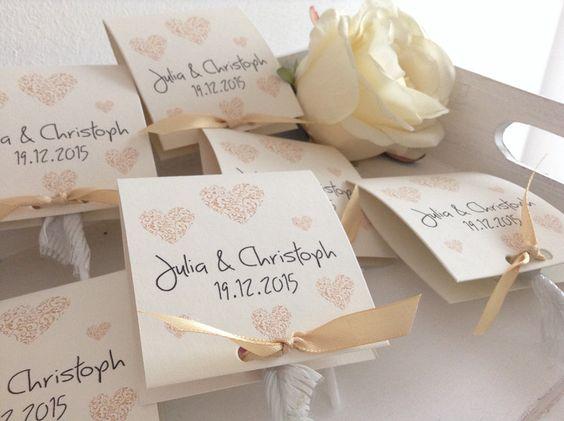 Gastgeschenke - Gastgeschenke zur Hochzeit mit Lollies Nr.2 - ein Designerstück von Kunstundtext bei DaWanda