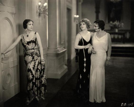 Geneva Mitchell, Clara Bow and Rosita Moreno in Her ...