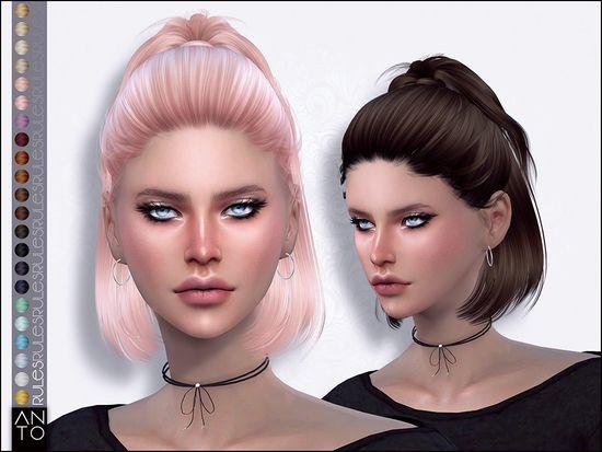 Hair Inspired In Dua Lipa Found In Tsr Category Sims 4 Female