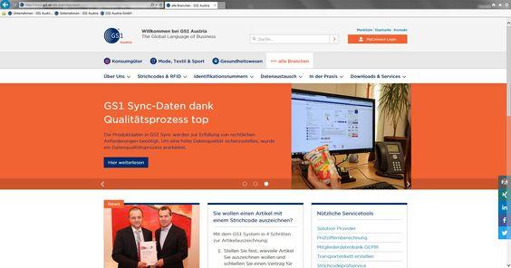 GS1 Austria launcht neue Website - http://www.logistik-express.com/gs1-austria-launcht-neue-website/