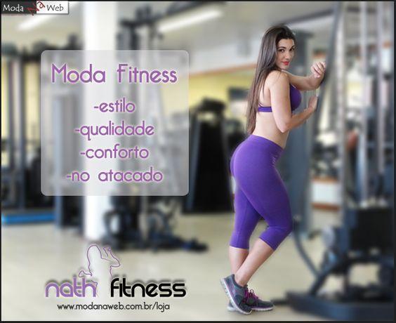 Revendedores, a coleção da Nath Fitness está linda de mais!!!! Além de linda, você pode comprar no atacado sem sair de casa! É só ir lá na nossa loja virtual e fazer o seu cadastro. Não perca tempo e aproveite nossas promoções de inauguração! Acesse: http://goo.gl/K0Ug7G