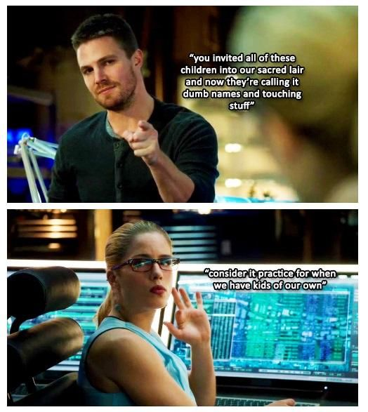 Arrow - Oliver and Felicity #3.8 #Season3 #Olicity | Arrow ...